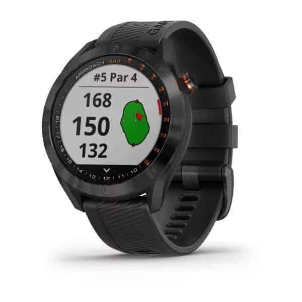 Garmin Approach S40 Premium GPS Golfuhr | schwarz