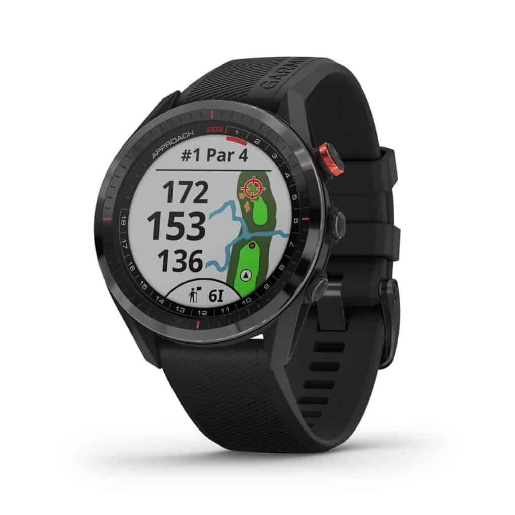 Garmin Approach S62 GPS Golf-Uhr Entfernungsmesser | schwarz / schwarz