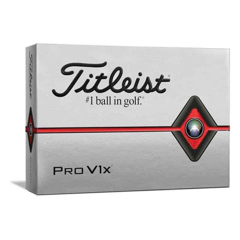 Titleist Pro V1x Golf-Ball | weiß 12 Bälle